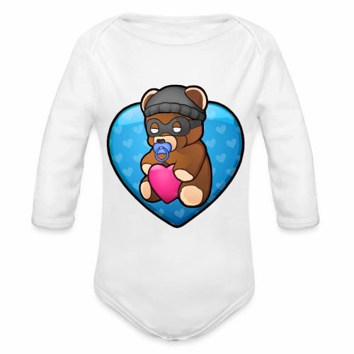 Bobby Bear - Baby! - Organic Longsleeve Baby Bodysuit