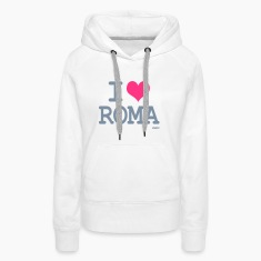 Bianco i love roma by wam Pullover