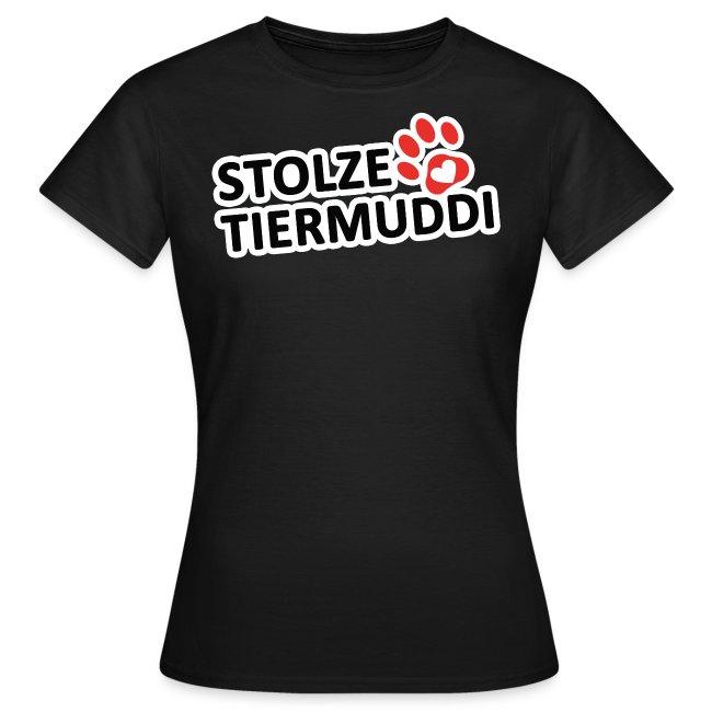 Stolze Tiermuddi Frauen T-Shirt