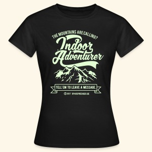 The mountains are calling - Frauen T-Shirt