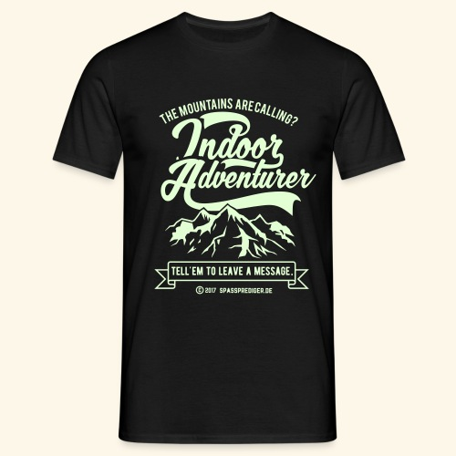 The mountains are calling - Männer T-Shirt