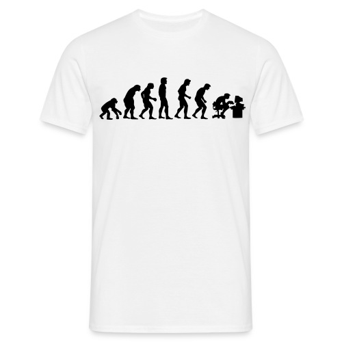 evolucion - Camiseta hombre