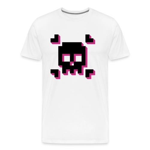 Skull & Cross Bit - Men's Premium T-Shirt