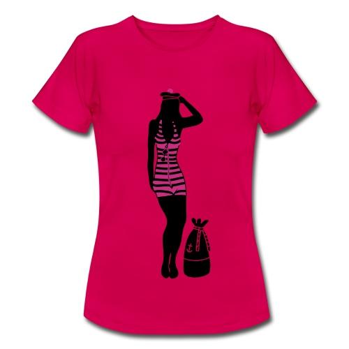MARINIERE 3 - T-shirt Femme
