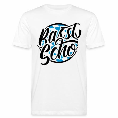 Basst Scho (Bavarian) Men's Organic T-Shirt - Men's Organic T-Shirt