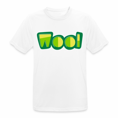 Wool (Liverpool Slang) Men's Breathable T-Shirt - Men's Breathable T-Shirt