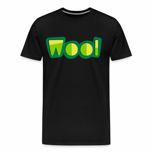 Wool (Liverpool Slang) Men's T-Shirt - Men's Premium T-Shirt