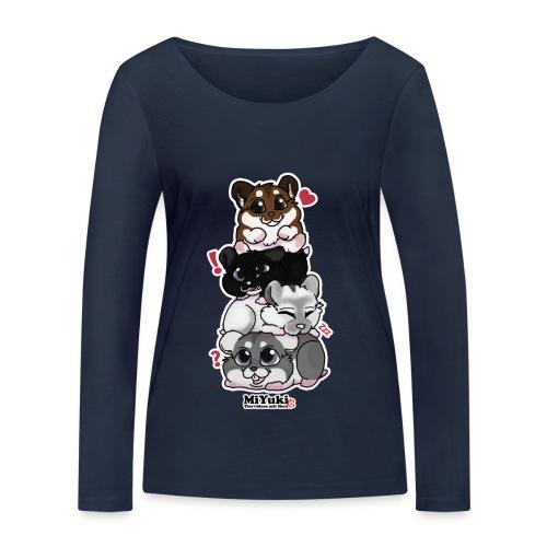 Zwergenturm Frauen Langarm-Shirt - Frauen Bio-Langarmshirt von Stanley & Stella