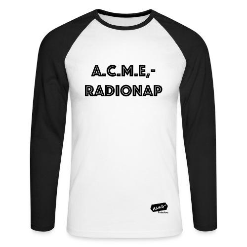 acme radiolab - Männer Baseballshirt langarm