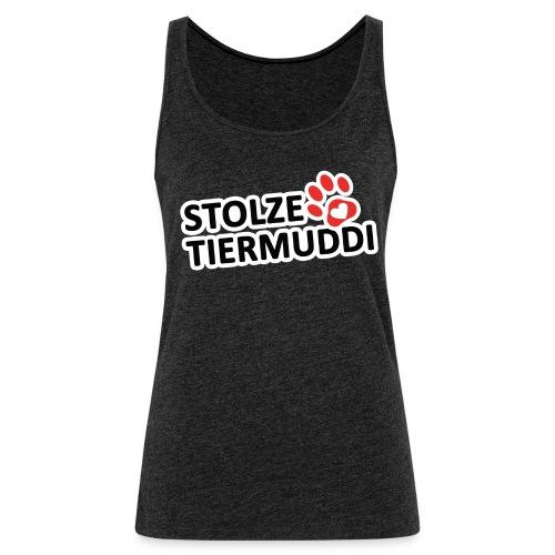Stolze Tiermuddi Frauen Tank Top - Frauen Premium Tank Top