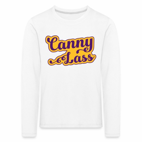 Canny Lass Children's Long Sleeve T-Shirt - Kids' Premium Longsleeve Shirt