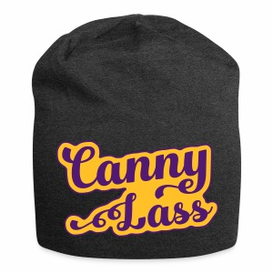 Canny Lass Jersey Beanie Hat - Jersey Beanie