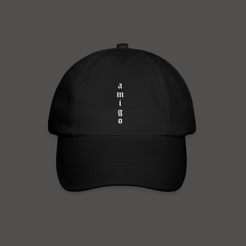 Amigo Kappe Black/White - Baseballkappe