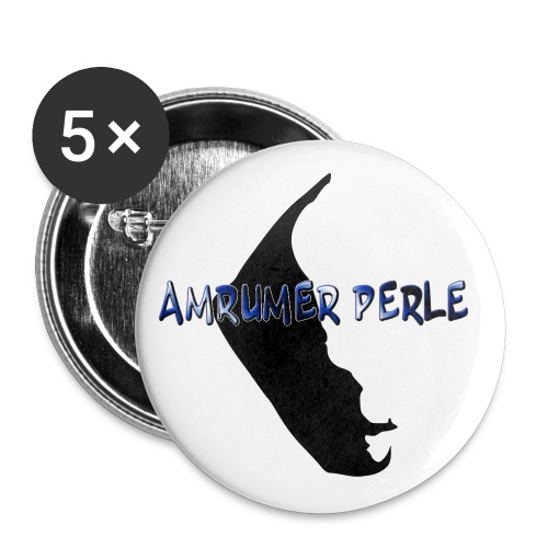 Perle Button groß - Buttons groß 56 mm