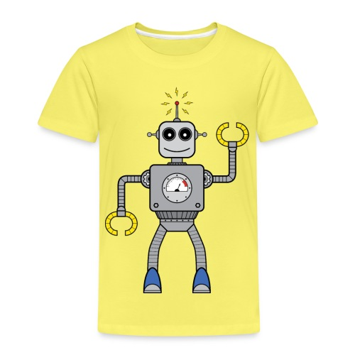 Friendly Little Robot - Kinder Premium T-Shirt