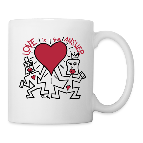 Love is the Answer by Oliver Schibli - Mug
