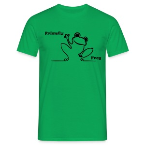 Friendly Frog T - Men's T-Shirt