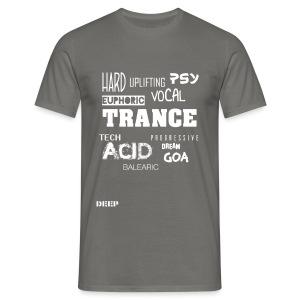 Trance Styles - Men's T-Shirt