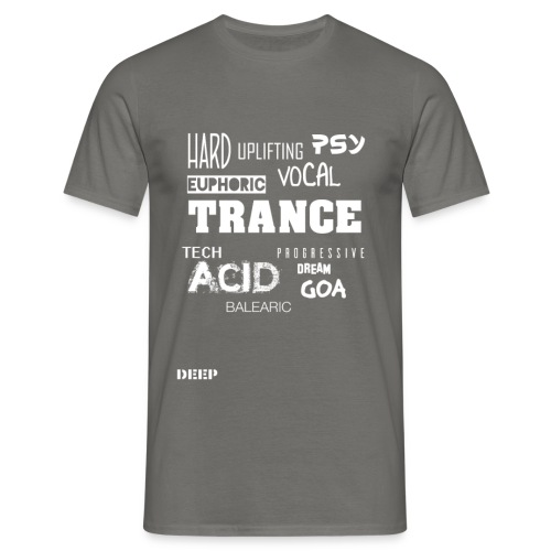 Trance Styles - Men's T-Shirt