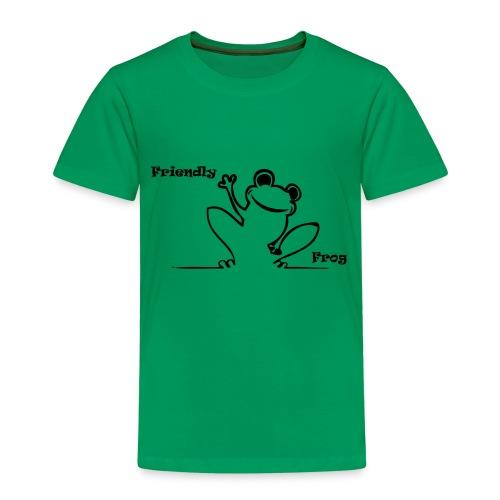 Friendly Frog T - Kids' Premium T-Shirt