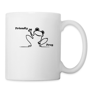 Friendly Frog T - Mug