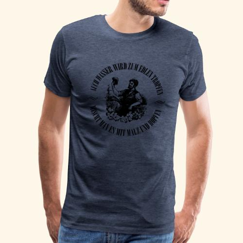 Edler Tropfen - Männer Premium T-Shirt