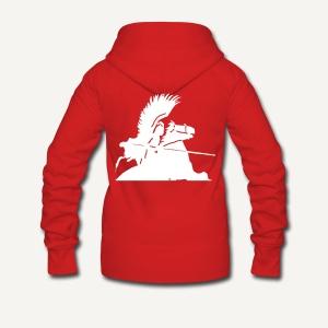 Husarz (wg. W. Bendy) husaria - Rozpinana bluza damska z kapturem Premium