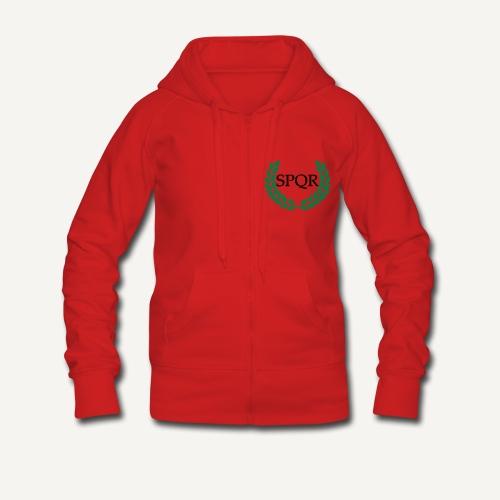 SPQR - Rozpinana bluza damska z kapturem Premium