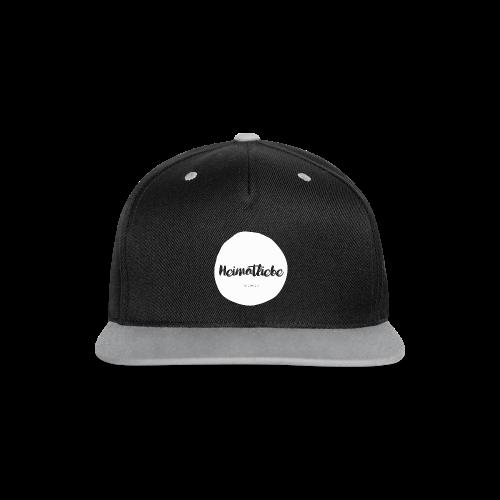 Heimatliebe Records Snapback - Kontrast Snapback Cap