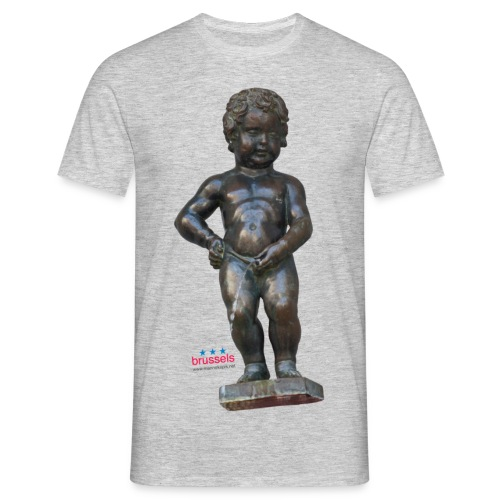 BiG REAL mannekenpis |♀♂ - T-shirt Homme