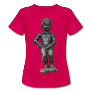 mannekenpis Big Real 小便小僧  - T-shirt Femme