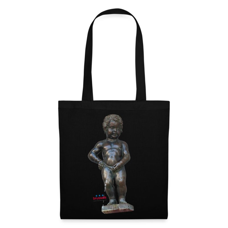 mannekenpis Big Real  小便小僧 - Tote Bag