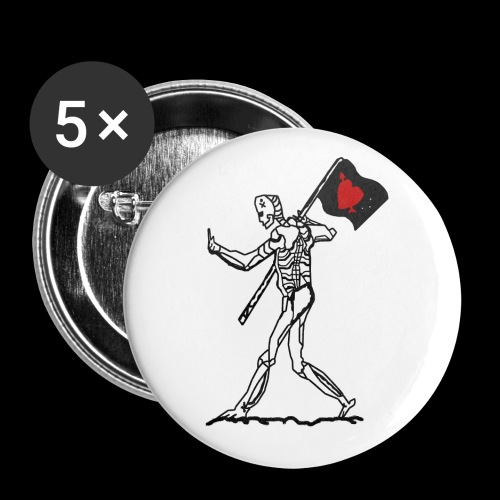 Pirateer Pt.1 Button Badges - Buttons small 25 mm