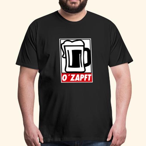 O´zapft - Männer Premium T-Shirt