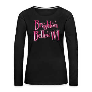 Brighton Belles Women's Black Long Sleeved T-Shirt - Women's Premium Longsleeve Shirt
