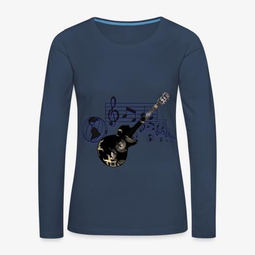 Musikliebhaber .... Frauen Langarm Shirt - Frauen Premium Langarmshirt
