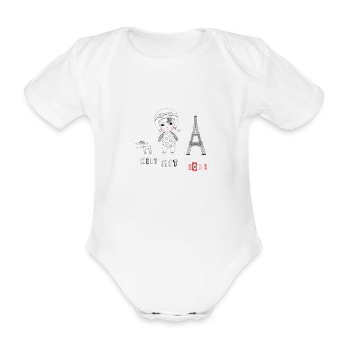babyshirt welt mit soße - Baby Bio-Kurzarm-Body