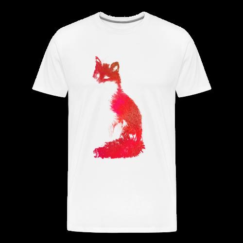 Red Fox - Mannen Premium T-shirt