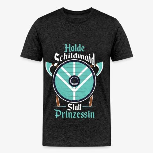Holde Schildmaid - Herren Premium T-Shirt - Männer Premium T-Shirt