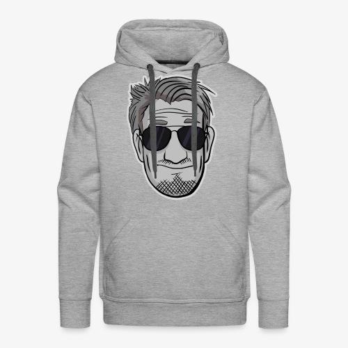 DerDummbabbler Face Männer Premium Hoodie - Männer Premium Hoodie