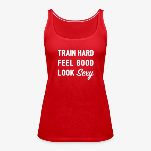 LOOK Sexy - Tank Top - RED - Frauen Premium Tank Top