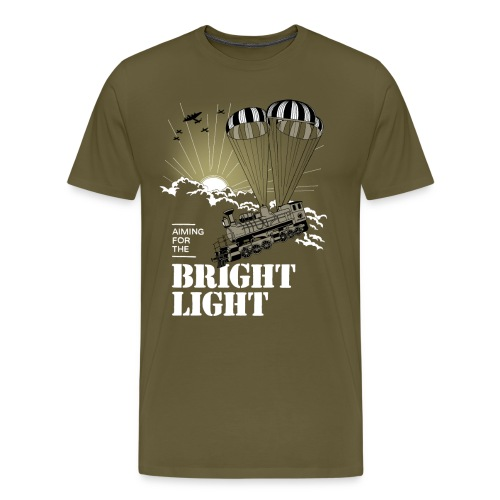 Bright Light  ♂ - Herre premium T-shirt