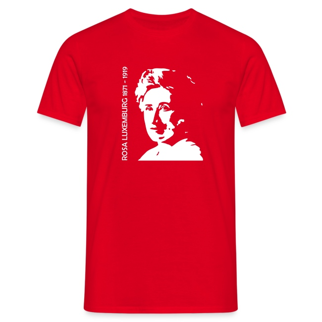 Rosa Luxemburg - T-shirt - Herr