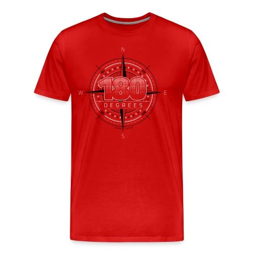 180 Degrees  ♂ - Herre premium T-shirt