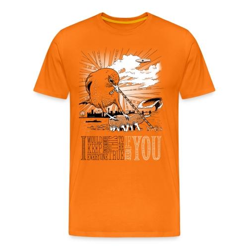 If I Were You  ♂ - Herre premium T-shirt