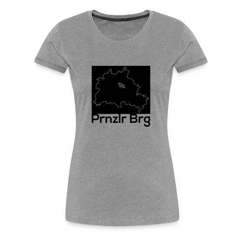 Berlin - Prenzlauer Berg District Shirt - Frauen Premium T-Shirt