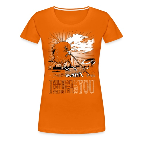 If I Were You ♀ - Dame premium T-shirt