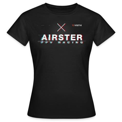 Glitch Woman - Frauen T-Shirt