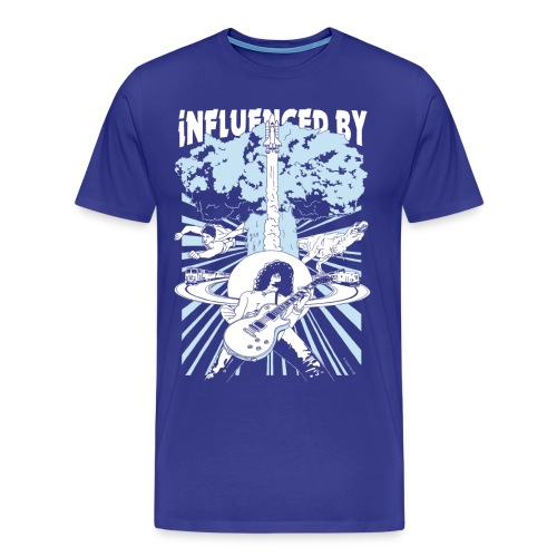 Influenced By  ♂ - Herre premium T-shirt