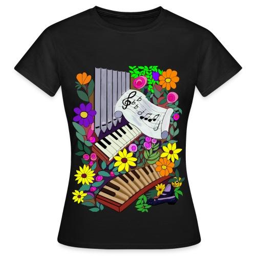 Orgelhemd - Frauen T-Shirt